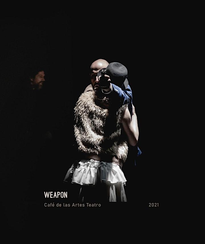 """Imagen de Santander Escénica 2: """"Weapon"""", de Café de las Artes"""