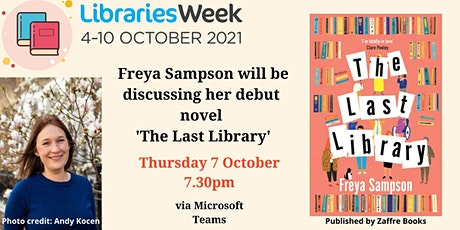 In Conversation with Freya Sampson - The Last Library tickets