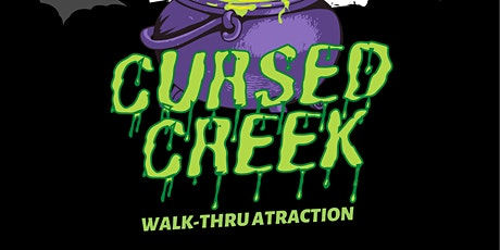 """BCR: """"A Place to Scare"""" presents CURSED CREEK! (Multiple Dates) tickets"""