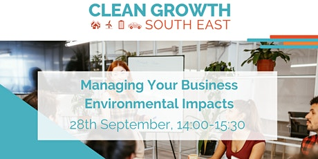 Managing your business environmental impacts tickets