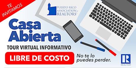 """Casa Abierta: """"Tour virtual Informativo"""" [Libre de costo] entradas"""