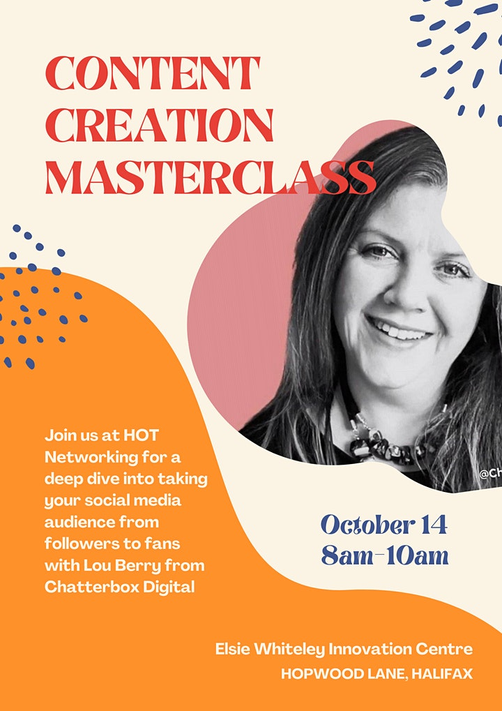 HOT Networking: Content Creation Masterclass image