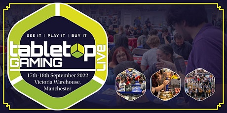 Tabletop Gaming Live 2022 tickets