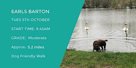 EARLS BARTON CIRCULAR | 5.2  MILES | MODERATE | NORTHANTS WALK tickets