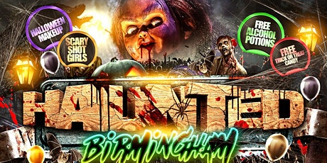 Haunted Birmingham tickets