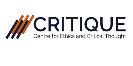CRITIQUE Virtual Roundtable Environmentalising Pedagogy tickets