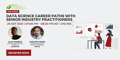 Data Science Career Paths with Senior Industry Practitioners Tickets