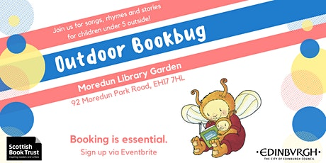 Outdoor Bookbug Session - Moredun Library Garden (10am) tickets