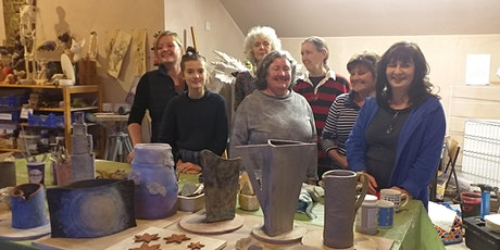 Hand Building Ceramics Course with Alison Finnieston tickets
