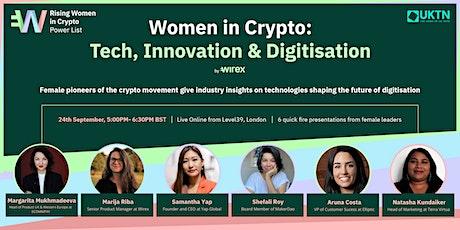 Women in Crypto: Tech, Innovation & Digitisation - Live Stream tickets