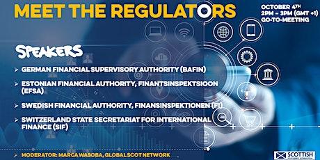 Meet the regulator – Financial regulation from an international perspective tickets