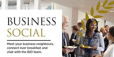 Business Socials tickets