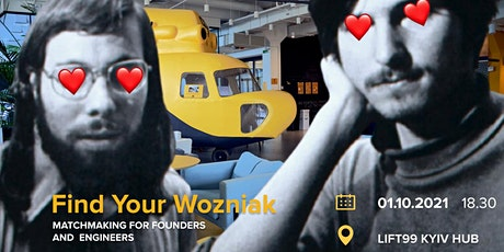 Find your Wozniak: Matchmaking for founders and engineers tickets