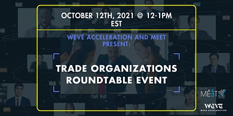 Trade organizations roundtable event tickets