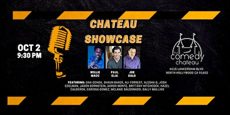 Chateau Showcase  at the Comedy Chateau (10/2) tickets