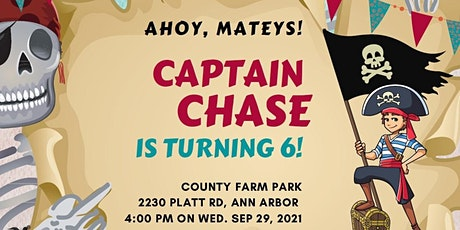 Chase's 6th Birthday Party tickets