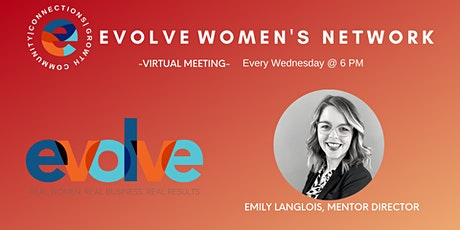 Evolve Women's Network: National (Evening Virtual) tickets