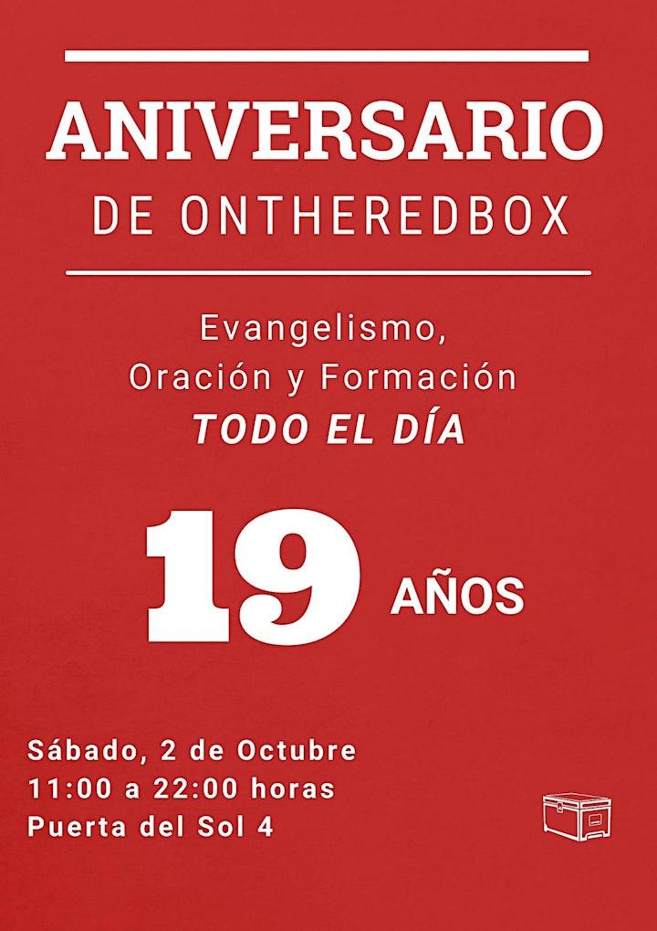 Imagen de CELEBRANDO 19 AÑOS   ONTHEREDBOX