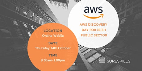 AWS Discovery Day (Public Sector) tickets