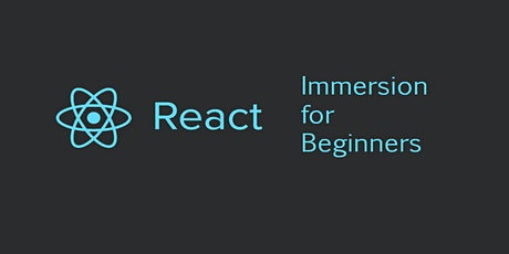 React Immersion for Beginners tickets
