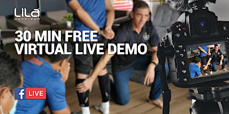 LIVE FITNESS DEMO WEDNESDAY 29th SEPT tickets