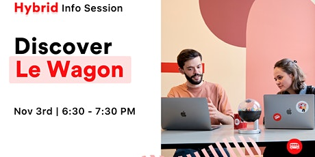 Discover Le Wagon's Coding Bootcamps in Berlin Tickets