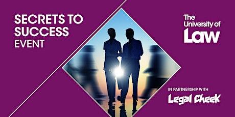 Secrets to Success - London tickets