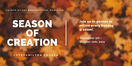 In-person Worship for Sunday, September 26th, 2021 tickets