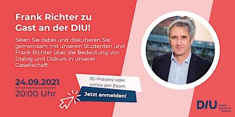Triff den Theologen Frank Richter in der DIU zum Expertenabend Tickets