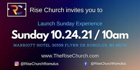 Rise Church Launch Sunday Experience tickets