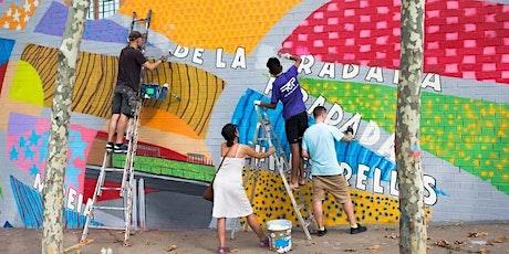 Taller juvenil d'ideació d'un mural per l'espai jove entradas