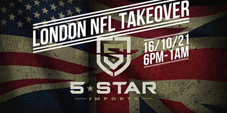 5-Star Imports london NFL takeover tickets