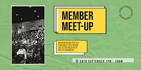 Member Meet-up 30th September: Northern Ireland Spotlight tickets