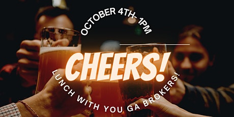 Lunch with you GA brokers tickets
