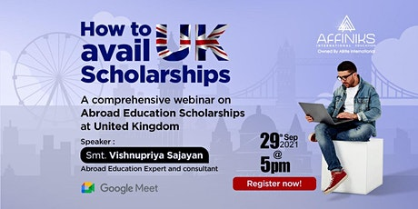 How to Avail UK Scholarships tickets