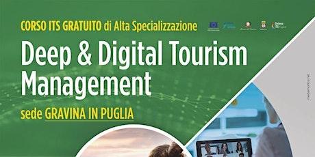"""Deep & Digital Tourism Management"" - Open Day a Spinazzola biglietti"