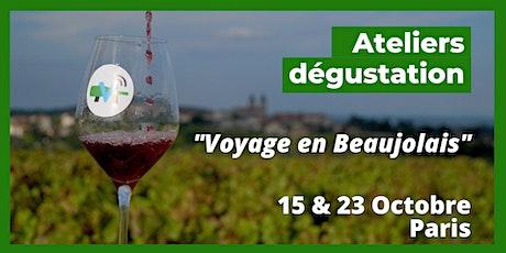 Voyage en Beaujolais billets