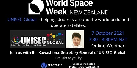 UNISEC-Global –helping students around the world build & operate satellites tickets