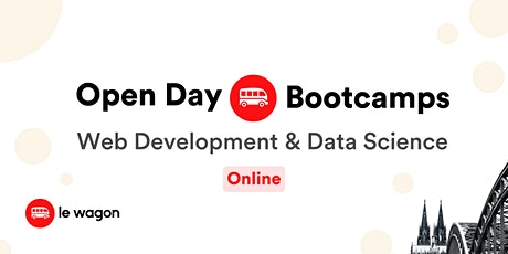 Virtual  Open Day  | Le Wagon Coding Bootcamp Tickets
