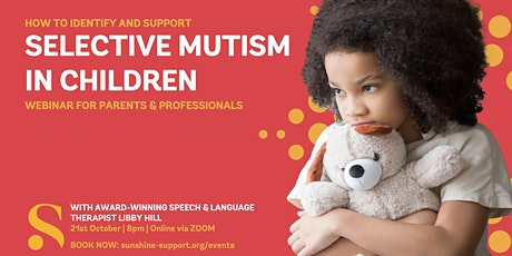 Selective Mutism in Children tickets