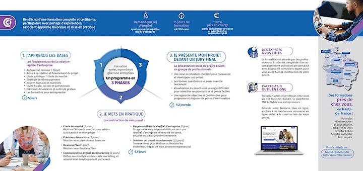 """Image pour Réunion d'Information: formation """"créer, reprendre et gérer une entreprise"""""""