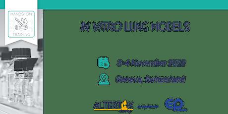 In vitro lung models billets