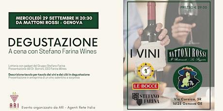Degustazione di vini e menù da Mattoni Rossi (GE) biglietti