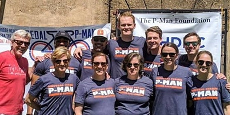 Pedal For P-Man 6 tickets