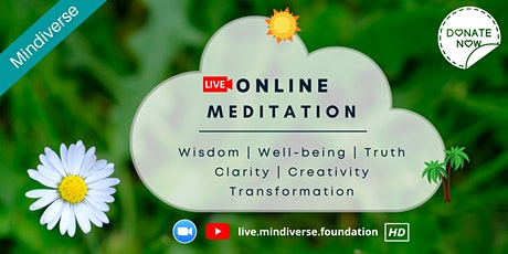 Online Meditation Session: Truth, Clarity & Wisdom (Free & Donation) tickets