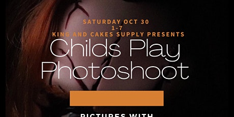 Childs Play Photoshoot tickets