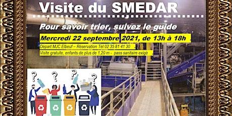 Visite du SMEDAR, centre de tri Métropole Rouen - avec la MJC d'Elbeuf billets