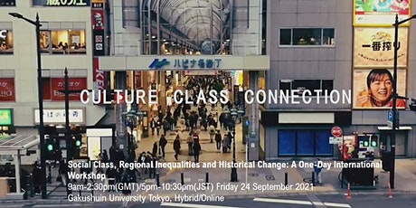Social Class, Regional Inequalities and Historical Change tickets