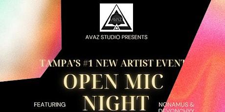 Hip hop / Pop / R&B / Trap music Open Mic! tickets