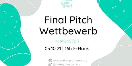 Make your Start-Academy: Final Pitch Tickets